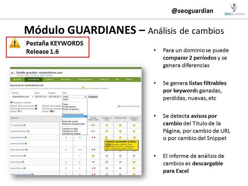 Release 1.6 SEOGuardian